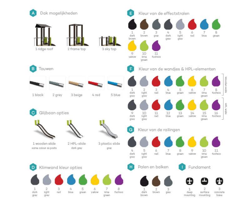 Kleuren - meerprijs