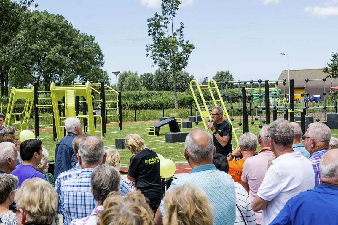 opening beweegpark Noord Aa zoetermeer