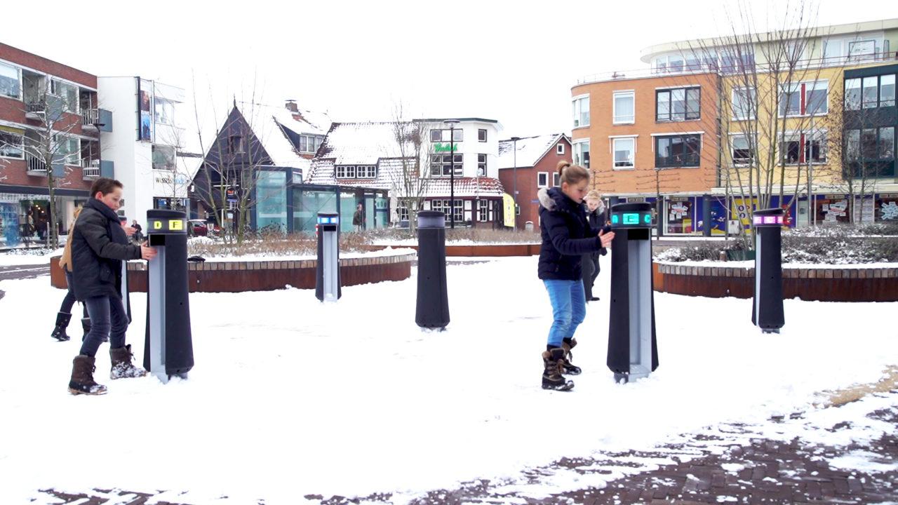Europaplein Rijssen - Nederland   Yalp Memo interactieve spelzone