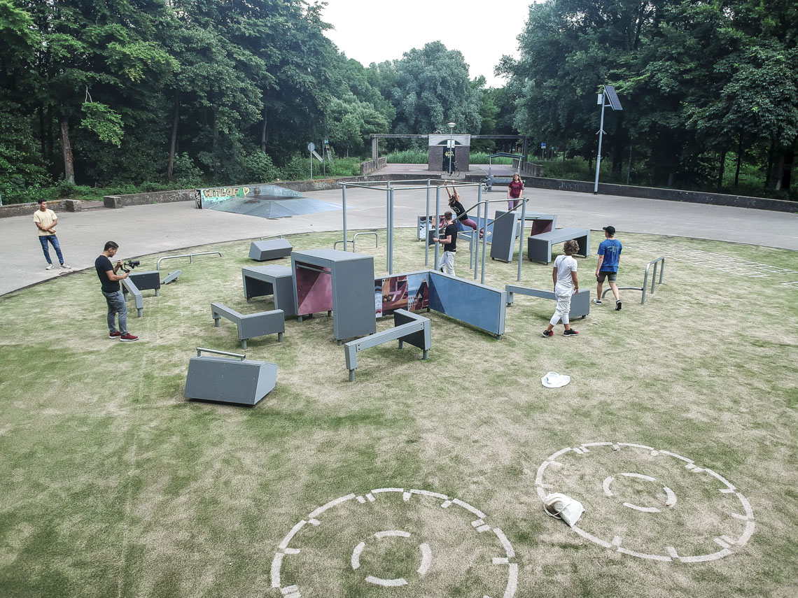 DASH Parkour park