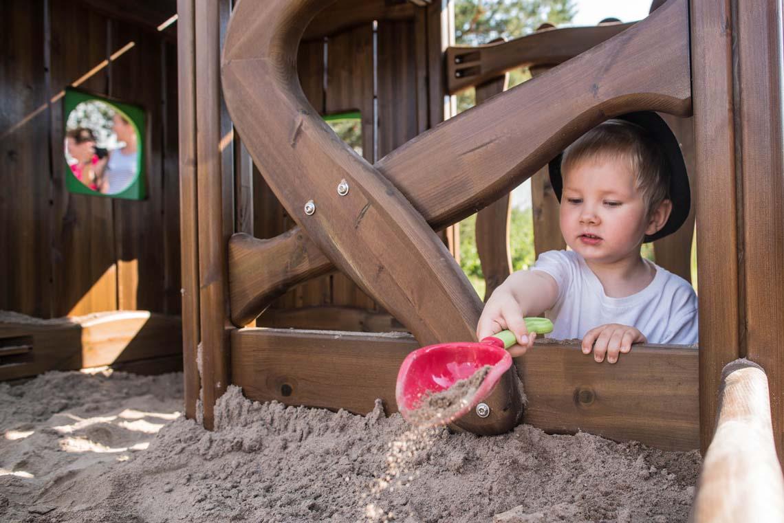 Iedereen houdt van zandbakken, niet waar?